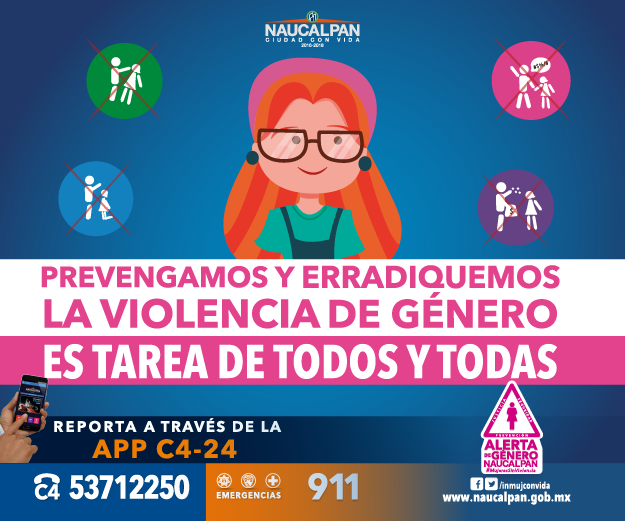 Naucalpan prevención de violencia de genero