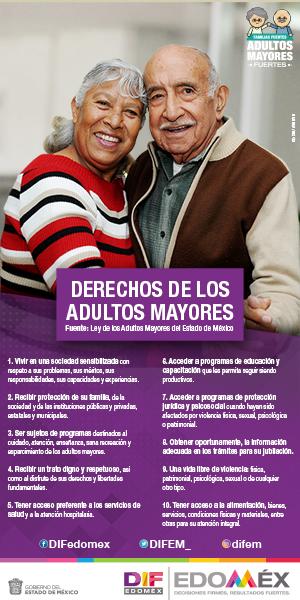 Derechos de los Adultos Mayores DIF