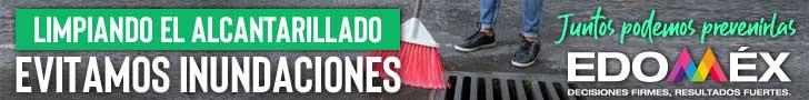 Barre tu calle evita inundaciones