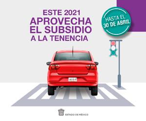 Tenencia 2021 Edoméx