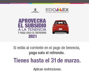 Subsidio a la tenencia 2021
