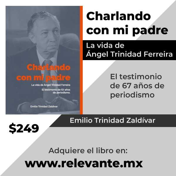 """Libro """"Charlando con mi padre"""" Emilio Trinidad"""