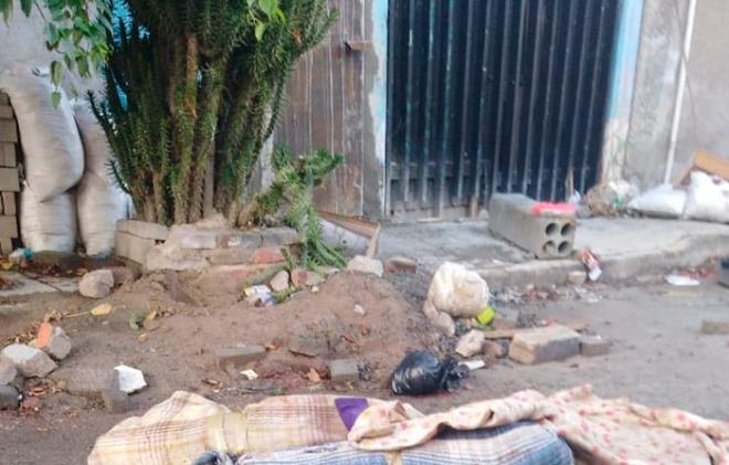 Encuentran restos humanos en calles de Ecatepec