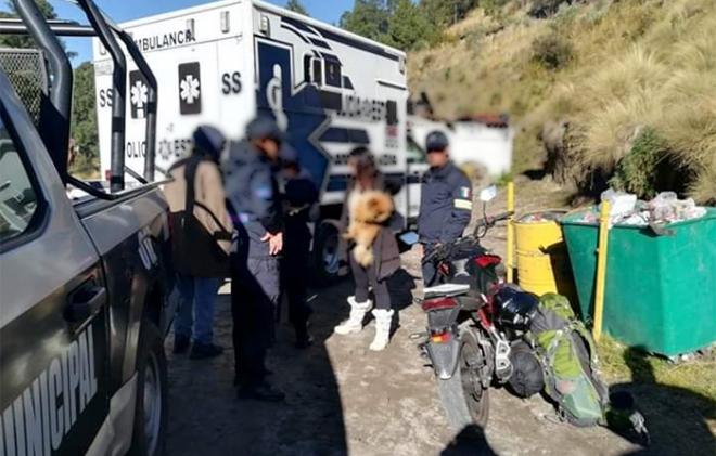 Reportan secuestro de turistas en el nevado de Toluca