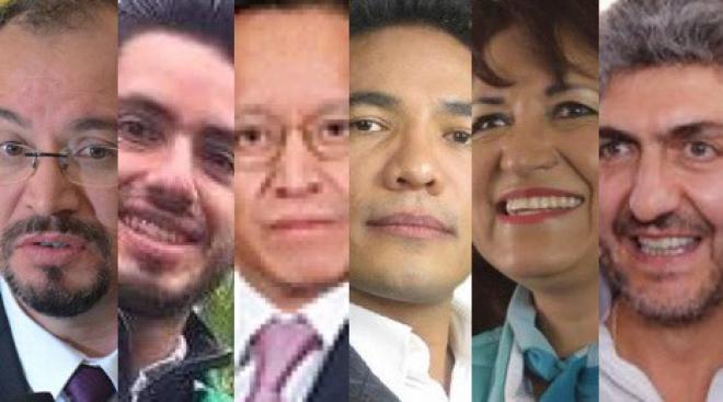 Aseguran diputación dirigentes de partidos en Edomex