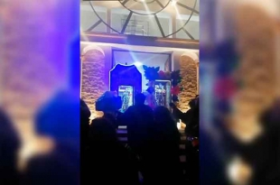 "#Video: Estalla cohete en serenata de Calimaya; San Diego se salva ""de milagro"""