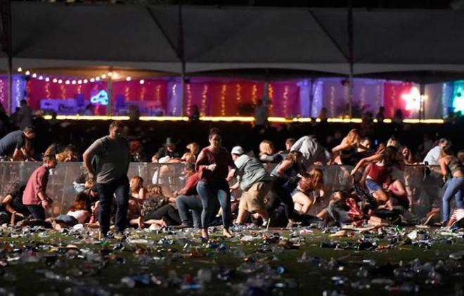 Deja 20 muertos y más de cien heridos tiroteo en Las Vegas