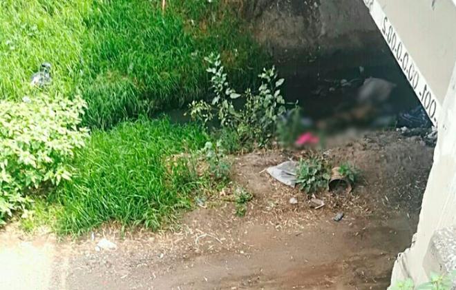 Hallan cadáver de hombre atado de pies y manos, en Texcoco